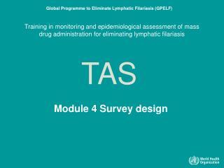 Module 4 Survey design