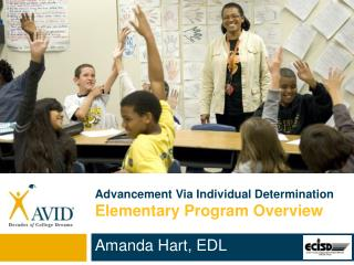 Advancement Via Individual Determination  Elementary Program Overview