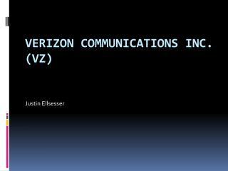 Verizon Communications Inc. (VZ)