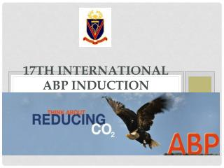 17th International  ABP  Induction Conference 2013