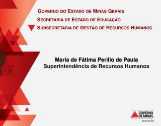 Subsecretaria  de Gest�o de Recursos Humanos