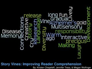 Story Vines: Improving Reader Comprehension