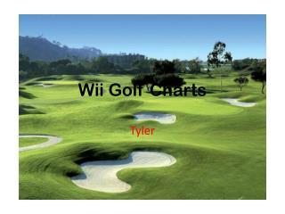 Wii  Golf Charts