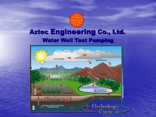 Water Well Test Pumping