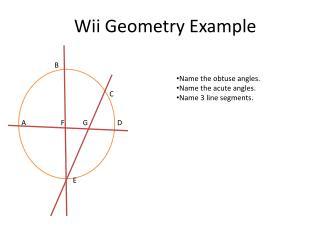 Wii  Geometry Example
