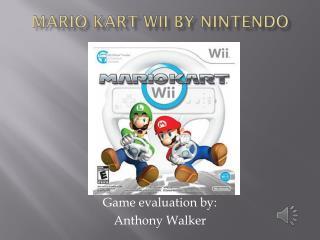 Mario Kart Wii by Nintendo