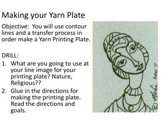 Making your Yarn Plate