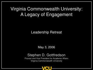 Virginia Commonwealth University: