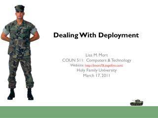 Dealing With Deployment