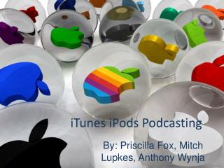 iTunes iPods Podcasting