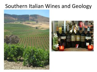 Southern Italian Wines and Geology