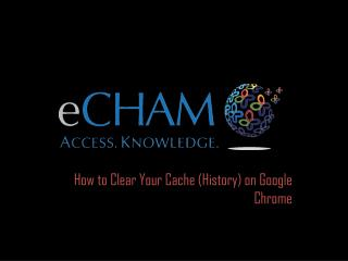 How to Clear Your Cache (History) on  Google Chrome