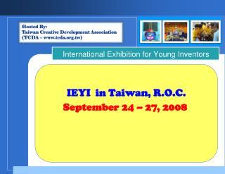 IEYI  in Taiwan, R.O.C.