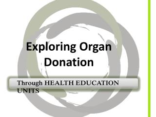 Exploring Organ Donation