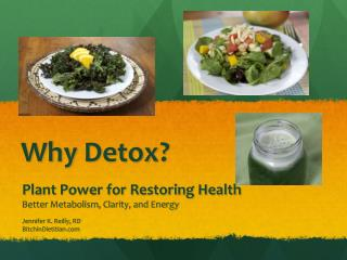 Why  Detox ?