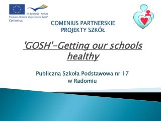 COMENIUS PARTNERSKIE  PROJEKTY SZK�?