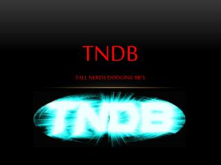 TNDB Tall nerds dodging bb's
