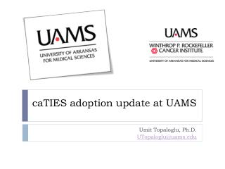 caTIES adoption update  at UAMS