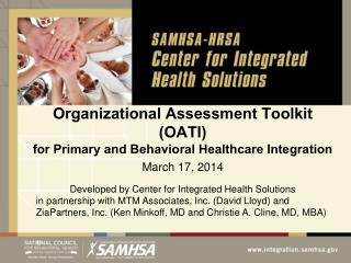 Organizational Assessment Toolkit (OATI) for Primary and Behavioral Healthcare Integration