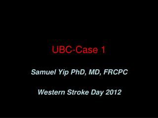 UBC-Case  1