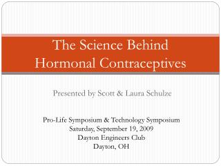 The Science Behind Hormonal Contraceptives