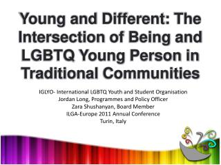 IGLYO- International LGBTQ Youth and Student  Organisation