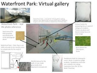 Waterfront Park: Virtual gallery