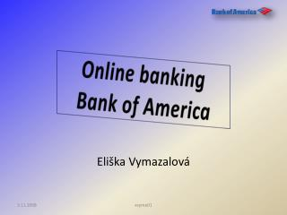 Online  banking Bank  of America