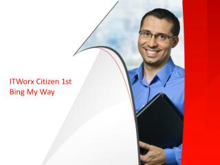 ITWorx Citizen 1st Bing My Way