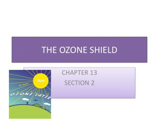 THE OZONE SHIELD