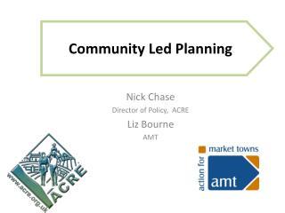Community Led Planning