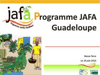 rogramme  JAFA  Guadeloupe