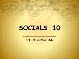 SOCIALS   10