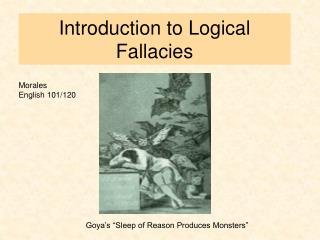 Introduction to Logical Fallacies