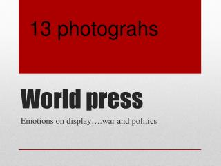 World press