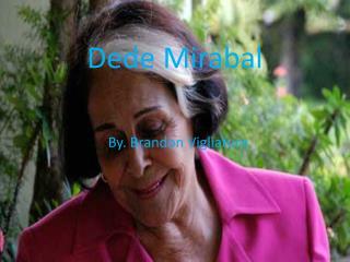 Dede Mirabal