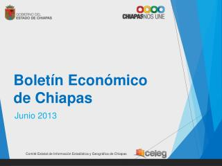 Boletín Económico  de Chiapas