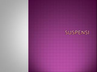 suspensi