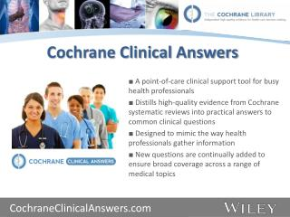 Cochrane Clinical Answers