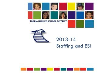 2013-14 Staffing and ESI