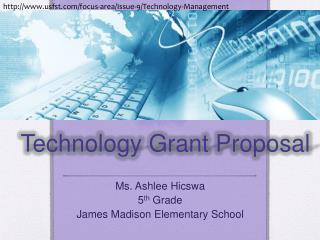 Technology Grant Proposal