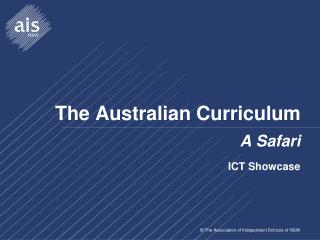 The Australian Curriculum