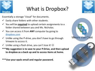 What is  Dropbox ?