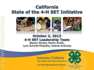 4-H Youth Development Program