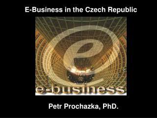 E-Business in the Czech Republic
