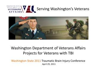 Serving Washington's Veterans