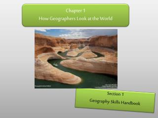Chapter  1 How Geographers Look at the World
