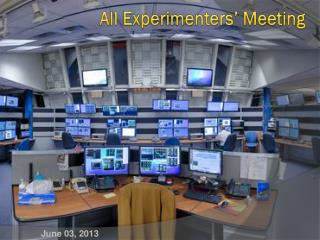 All Experimenters' Meeting