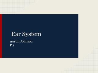 Ear System