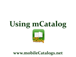 mCatalog – Dynamic Catalog of Specials and Deals for Active